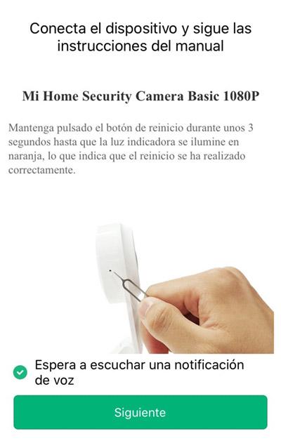 Cómo conectar la cámara
