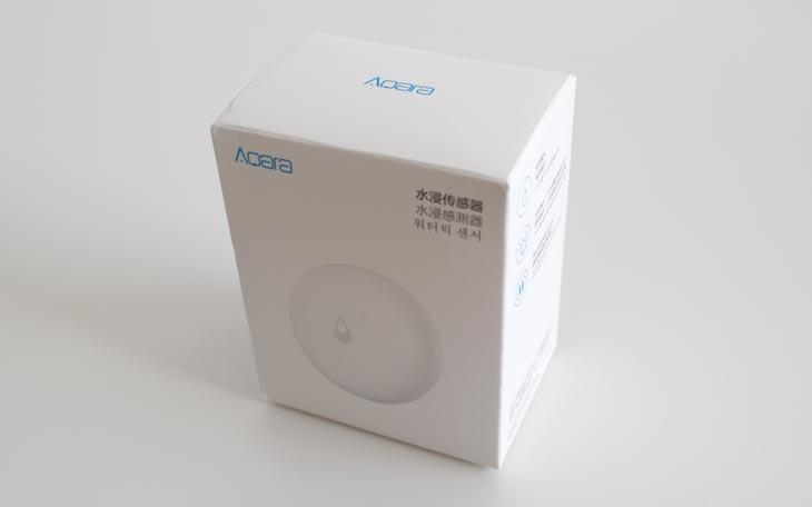 PPresentación del sensor de agua de Xiaomi