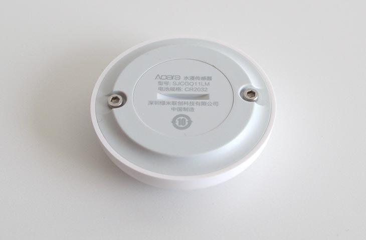 Parte inferior del sensor de agua de Xiaomi